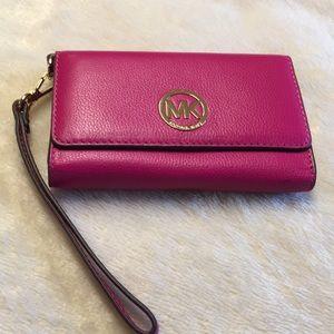 Authentic leather Michael Kors wallet